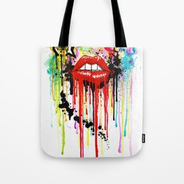 Poison Lips Tote Bag