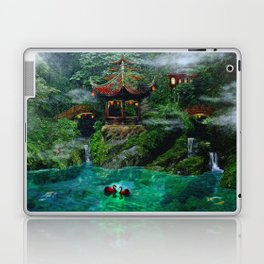 Tale of the Red Swans Laptop & iPad Skin