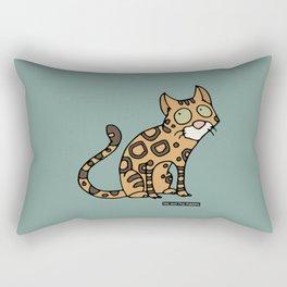 Cat - Bengal cat Rectangular Pillow