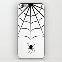 spider iPhone & iPod Skins featuring Spider by haroulita