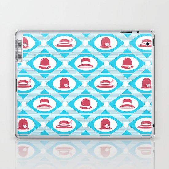 Art Deco Hats Laptop & iPad Skin