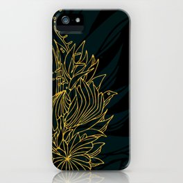 Nested in Gold iPhone Case