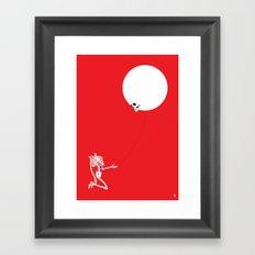 Inflated Ego Framed Art Print