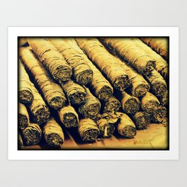 Cigars Art Print