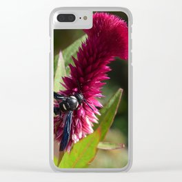 Unseen Beauty Clear iPhone Case