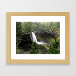 Worries Fall Away Framed Art Print