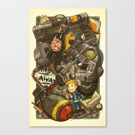 Wasteland Cache Canvas Print