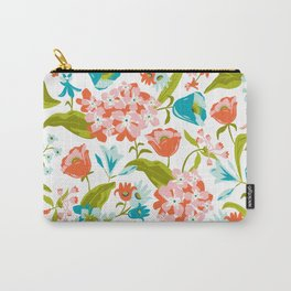 Amilee White Carry-All Pouch