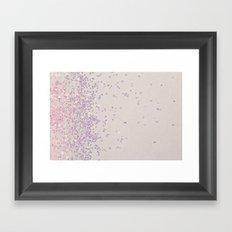 My Favorite Color (NOT REAL GLITTER - photo) Framed Art Print