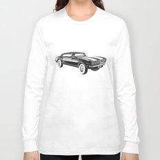 Mustang Car Long Sleeve T-shirt
