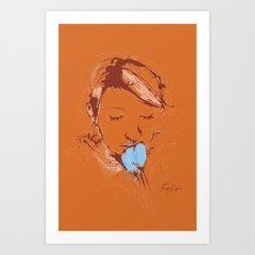 Digital Drawing #2 Art Print