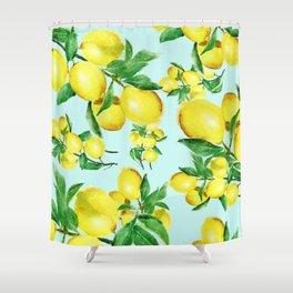 lemon 2 Shower Curtain
