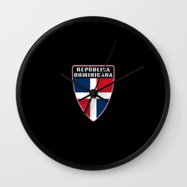 Republica Dominicana Wall Clock