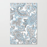 blueprint Canvas Prints featuring BluePrint by surfed