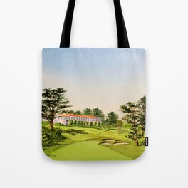 The Olympic Golf Course 18th Hole Tote Bag