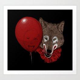 Red Decoy Art Print