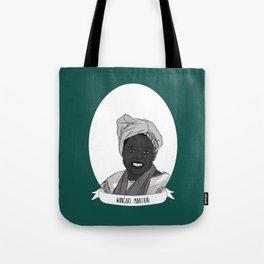 Wangari Maathai Illustrated Portrait Tote Bag