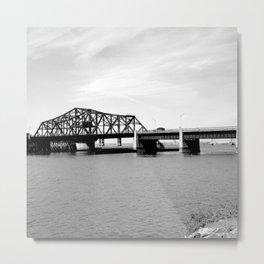 Victory Bridge, New Jersey 1926 Metal Print