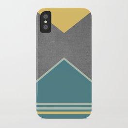 Concrete & Triangles III iPhone Case