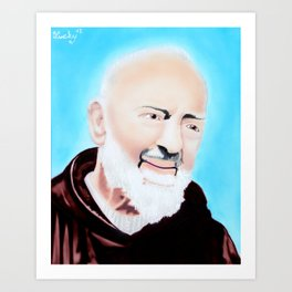 San Pio Art Print