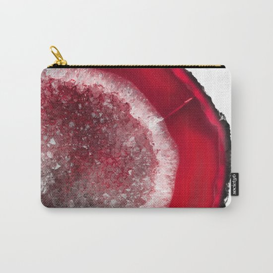 Christmas Red Agate Carry-All Pouch