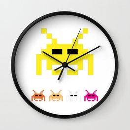 Invaders Wall Clock