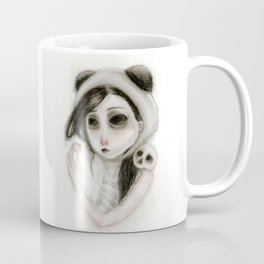 The inability to perceive with eyes notebook I Coffee Mug