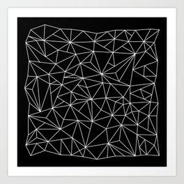 Geometric Jane 2 Art Print