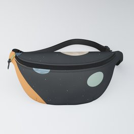 Minimal Space Fanny Pack