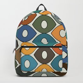 Colorful Fun Pattern Backpack