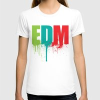 edm T-shirts featuring EDM Lover by DropBass