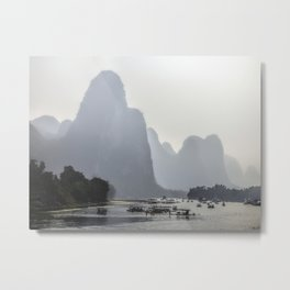Li River China Metal Print