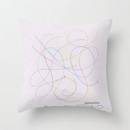 Informe del fósforo Throw Pillow