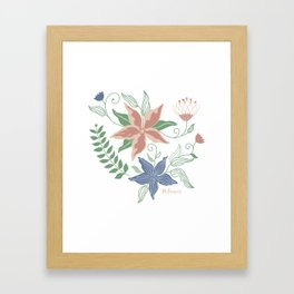 Caladenia Framed Art Print