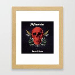 Faces Of Death Framed Art Print