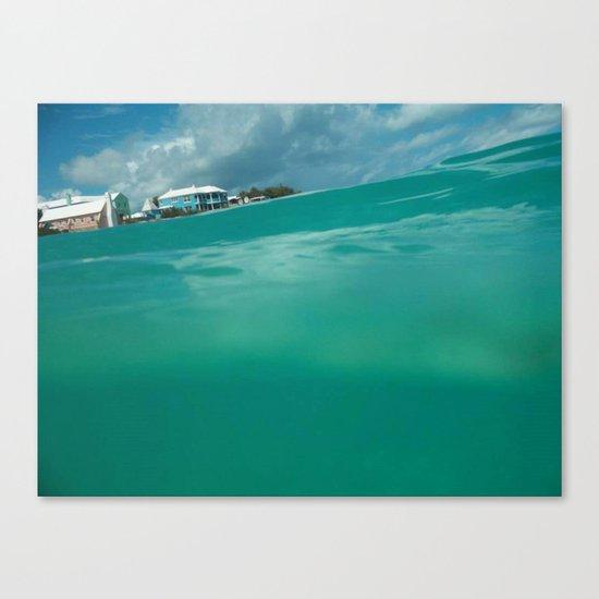 Bermuda Water Canvas Print
