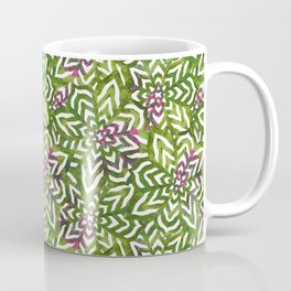 I don't need to improve - Green and pink Coffee Mug