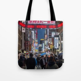 Tokyo Streets Tote Bag