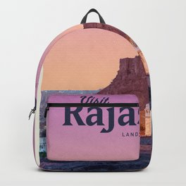 Visit Rajasthan Backpack