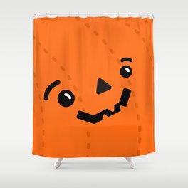 Jack o' Pumpkin Shower Curtain