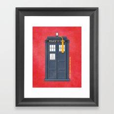 11th Doctor - DOCTOR WHO Framed Art Print