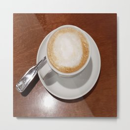 Rise and Shine Cafe con Leche Coffee! Metal Print