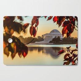 Jefferson in Autumn Cutting Board