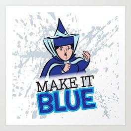 "Merryweather ""Make It Blue"" / Sleeping Beauty Art Print"