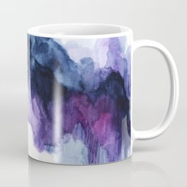 Purple abstract watercolor Coffee Mug