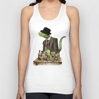the 100 Tank Tops featuring 100% Genuine by Eric Fan