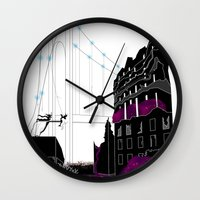 book cover Wall Clocks featuring Emergence - Book Cover by svitka