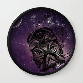 Gemini- Imaginative, Social, Inquisitive Wall Clock