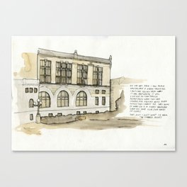 Treasury Canvas Print