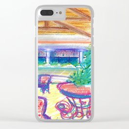 caribe hotel Clear iPhone Case